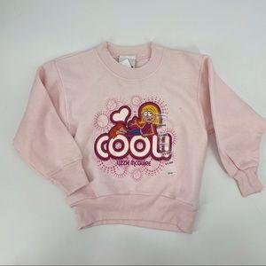 NEW! Girl's Lizzie McGuire Pink Sweatshirt